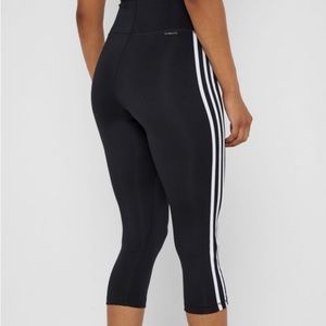 Adidas High Rise Cropped Tights